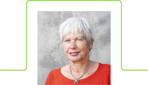 Portraitfoto von Gerlinde Vogl