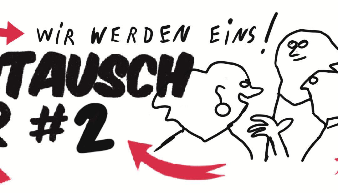 """Herzliche Einladung zur HDS-Austauschbar #2 """"WIR WERDEN EINS"""""""